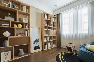 102平北欧现代三居装修效果图