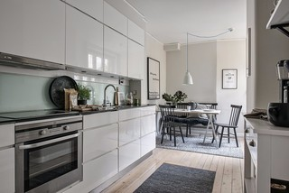 65㎡北欧风公寓厨房装修效果图
