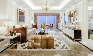 新古典风格四居室客厅装修设计图