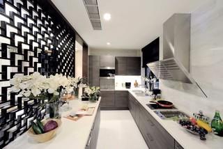 大户型新中式风格厨房装修效果图
