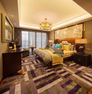 大户型东南亚风格卧室每日首存送20
