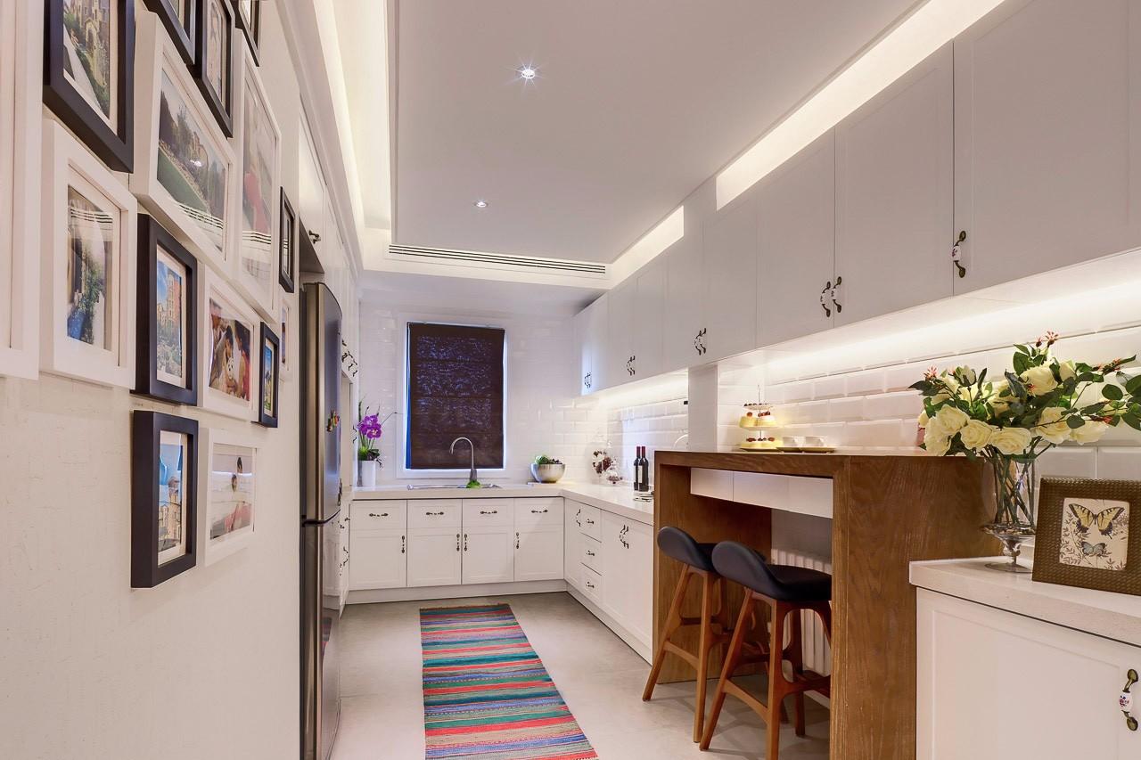 120平现代简约风格厨房装修设计图