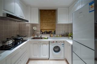112平欧式风格厨房装修效果图