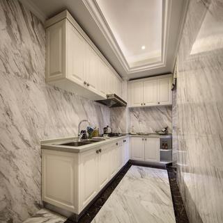 欧美风格三居室厨房装修效果图