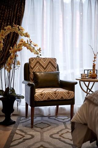 现代美式风格样板房装修沙发椅设计
