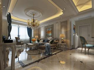 奢华欧式风格客厅每日首存送20