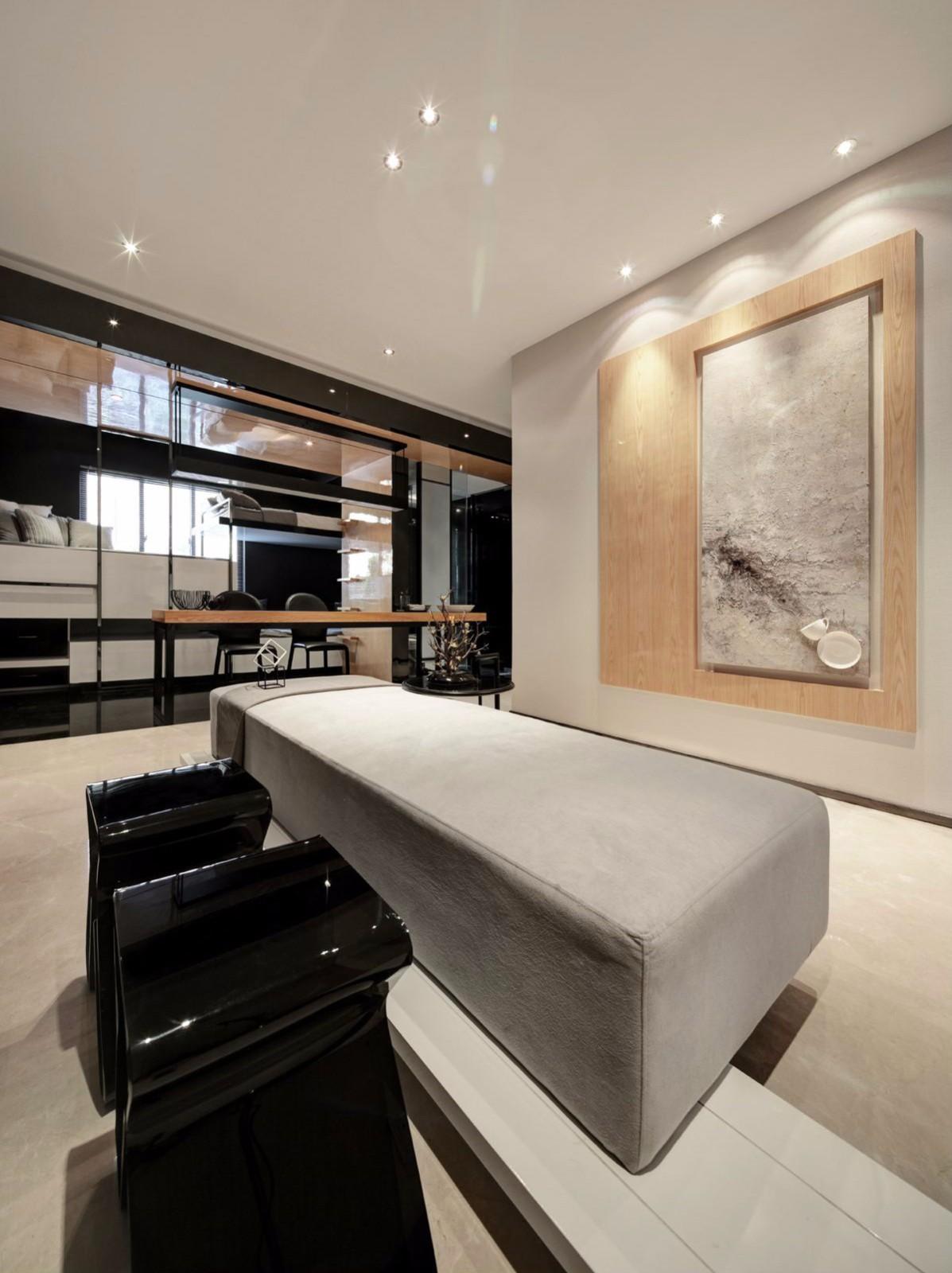 现代风格二居客厅装修效果图