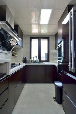 170平混搭風格廚房裝修效果圖