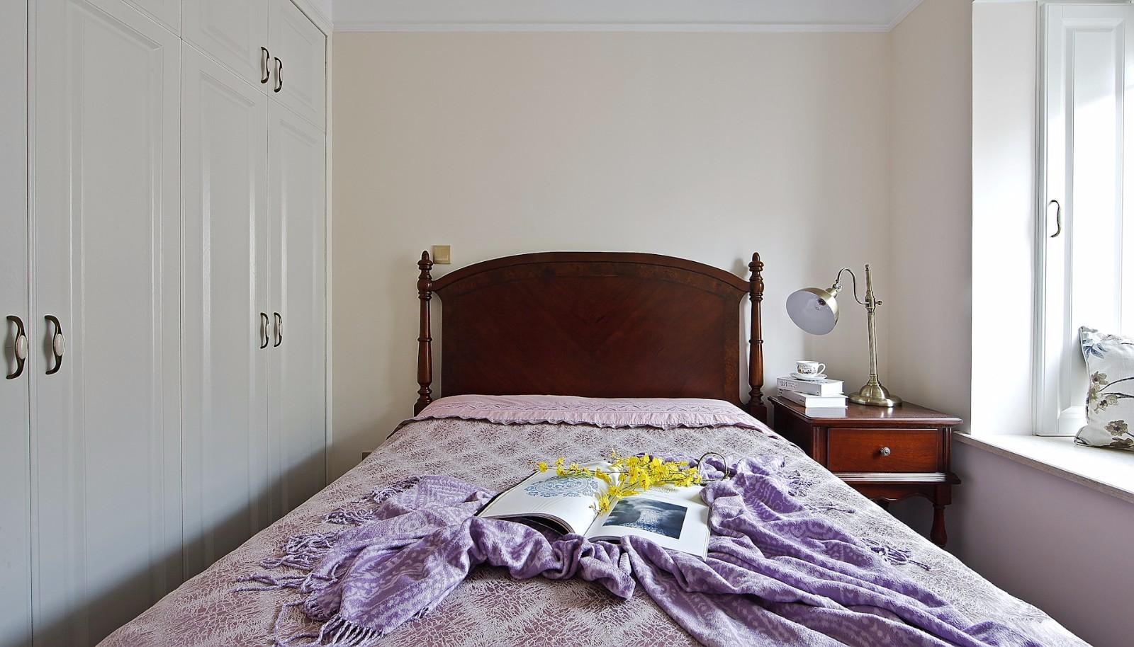 105㎡美式风格卧室装修效果图