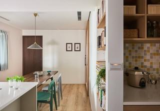 MUJI风格二居餐厅装修效果图