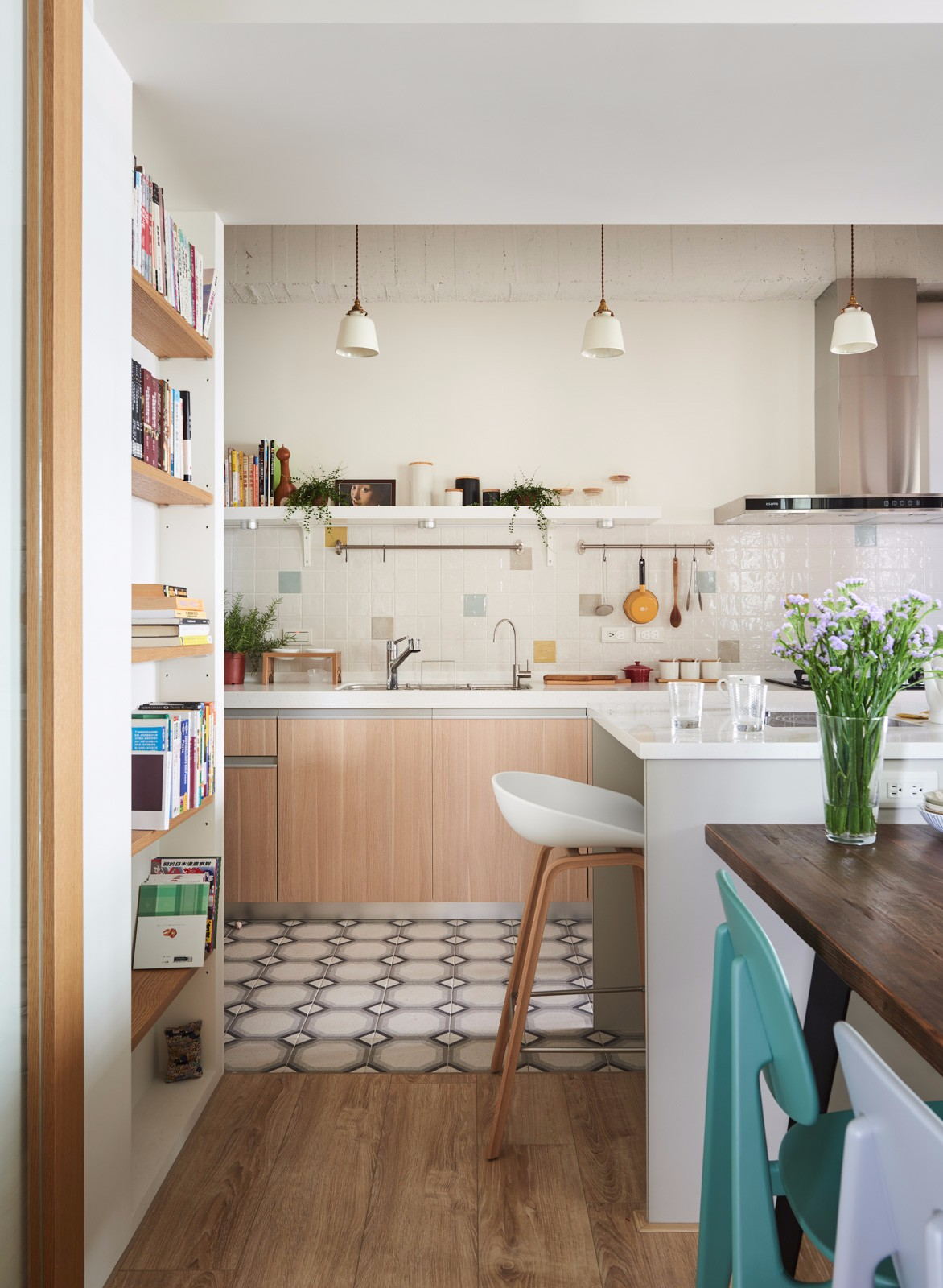 MUJI风格二居厨房装修效果图