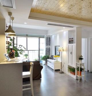 85平米二居室客廳裝修效果圖