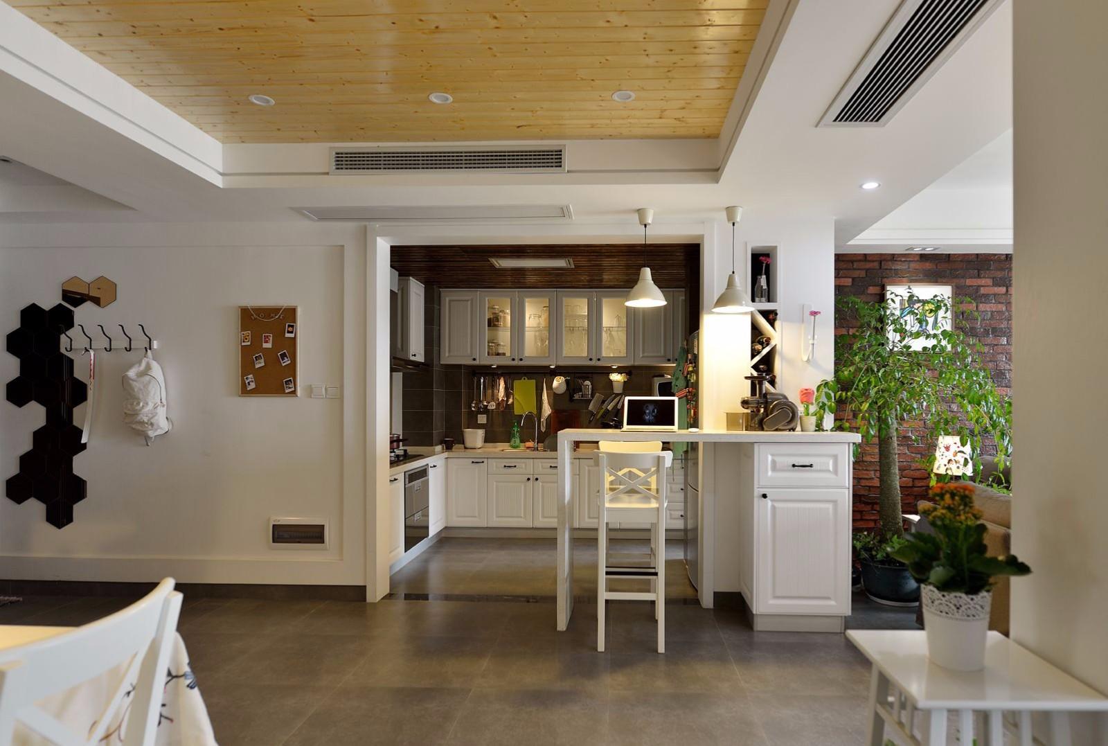85平米二居室厨房装修效果图