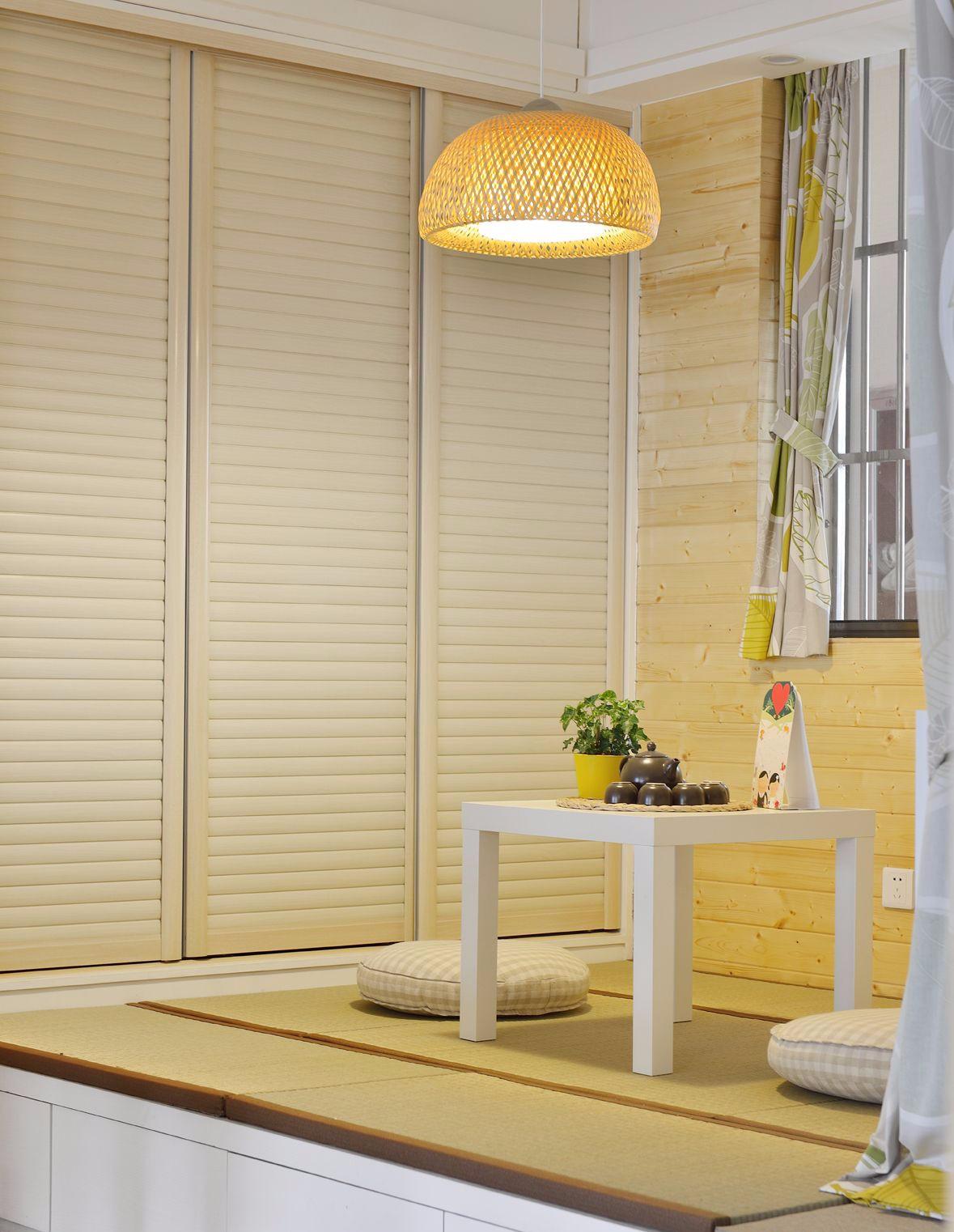 85平米二居室榻榻米装修效果图