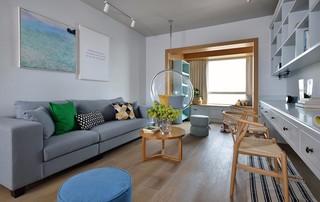 三居室简约风格客厅每日首存送20