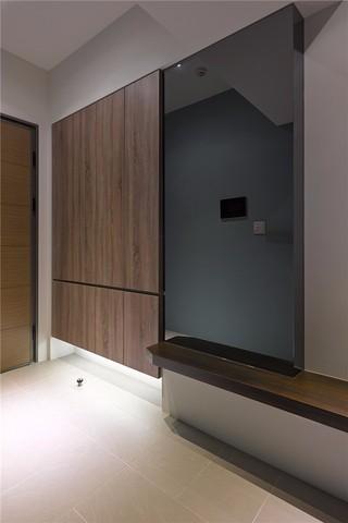 80㎡现代简约二居玄关装修效果图