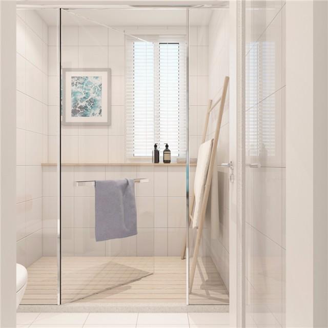 一居室小户型简约风卫生间装修效果图