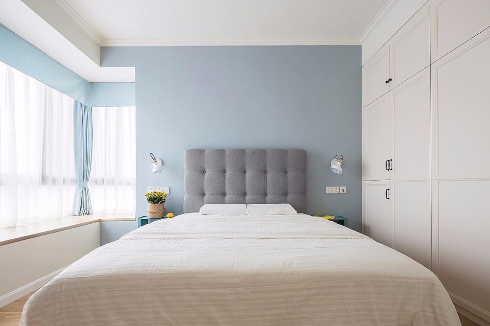 清新北欧风格卧室装修效果图