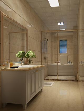 欧式风格三居卫生间装修效果图