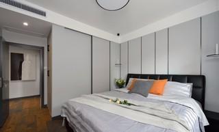 95㎡现代简约风格卧室装修效果图