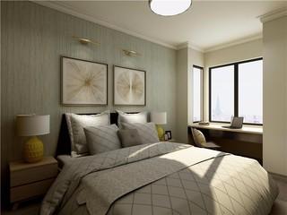 现代简约两居装修效果图