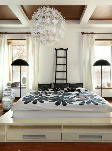 10带飘窗的卧室装修效果图 你喜欢哪一个呢