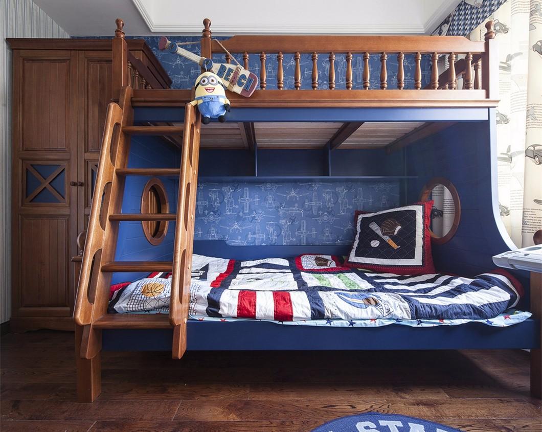 古典美式风格儿童房装修效果图