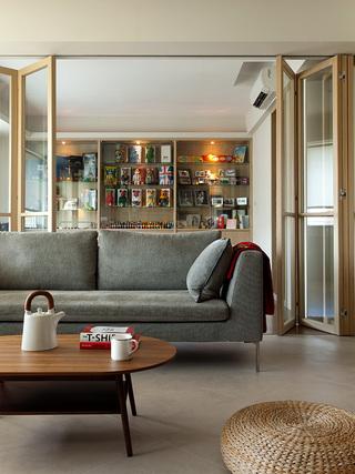 简约现代风三居装修沙发设计