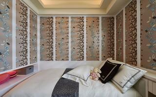 三居室简欧风格墙纸每日首存送20
