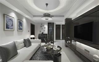 二居室现代风格客厅每日首存送20