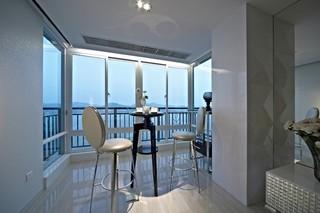 新古典三居室阳台装修效果图