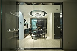 新古典三居室餐廳裝修效果圖