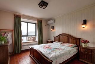 130平混搭风格三居卧室装修效果图