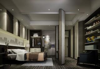 都市时尚现代风卧室装修效果图