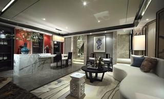 新中式别墅地下室装修设计图