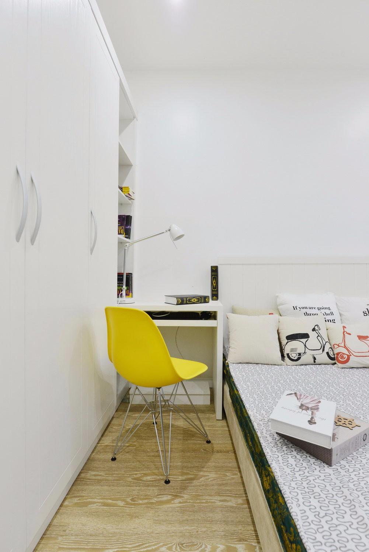 简约风格公寓书桌装修效果图