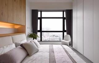 90㎡现代风二居卧室装修效果图