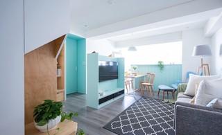 简约北欧两居室客厅装修效果图