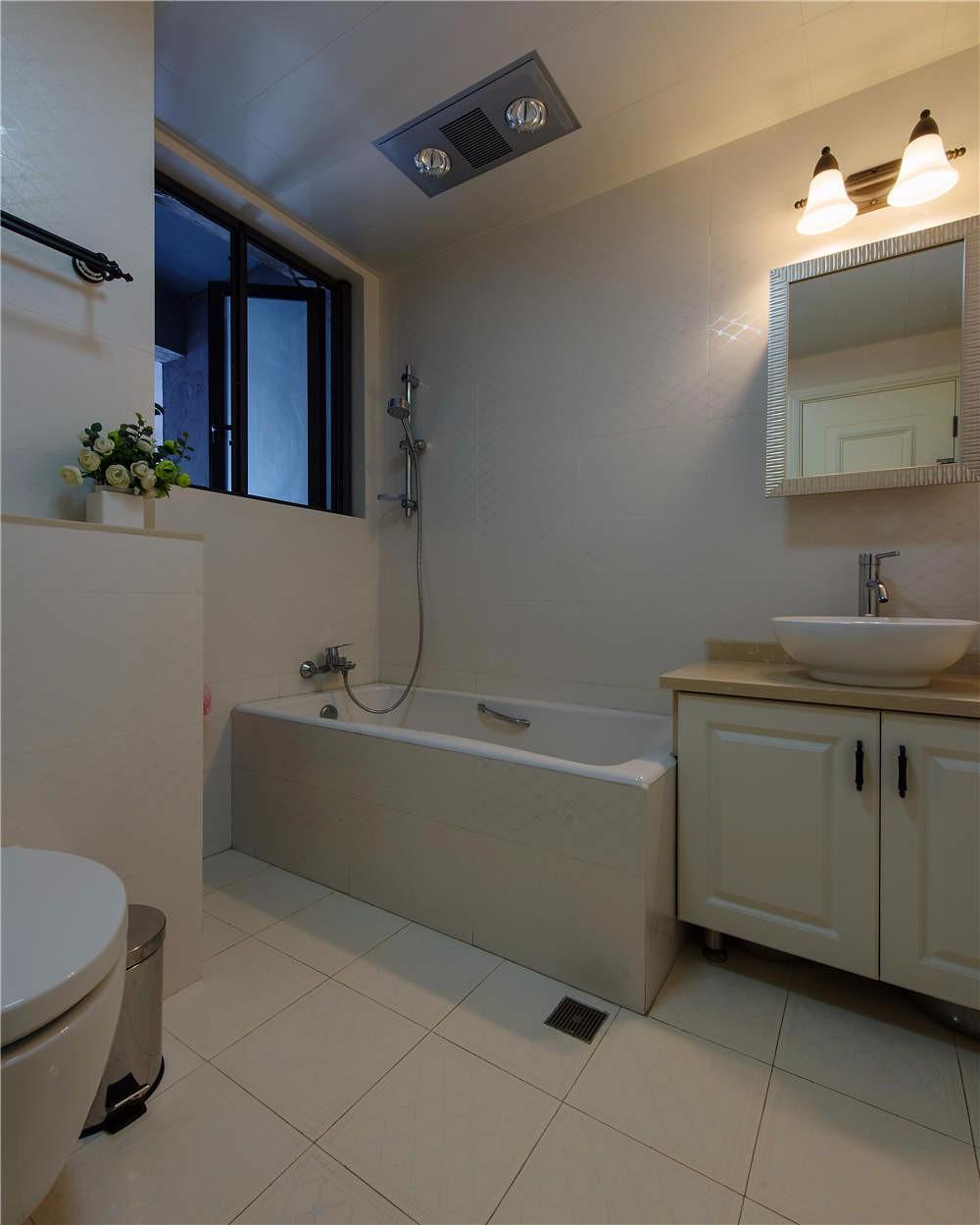135平米美式风格卫生间装修效果图