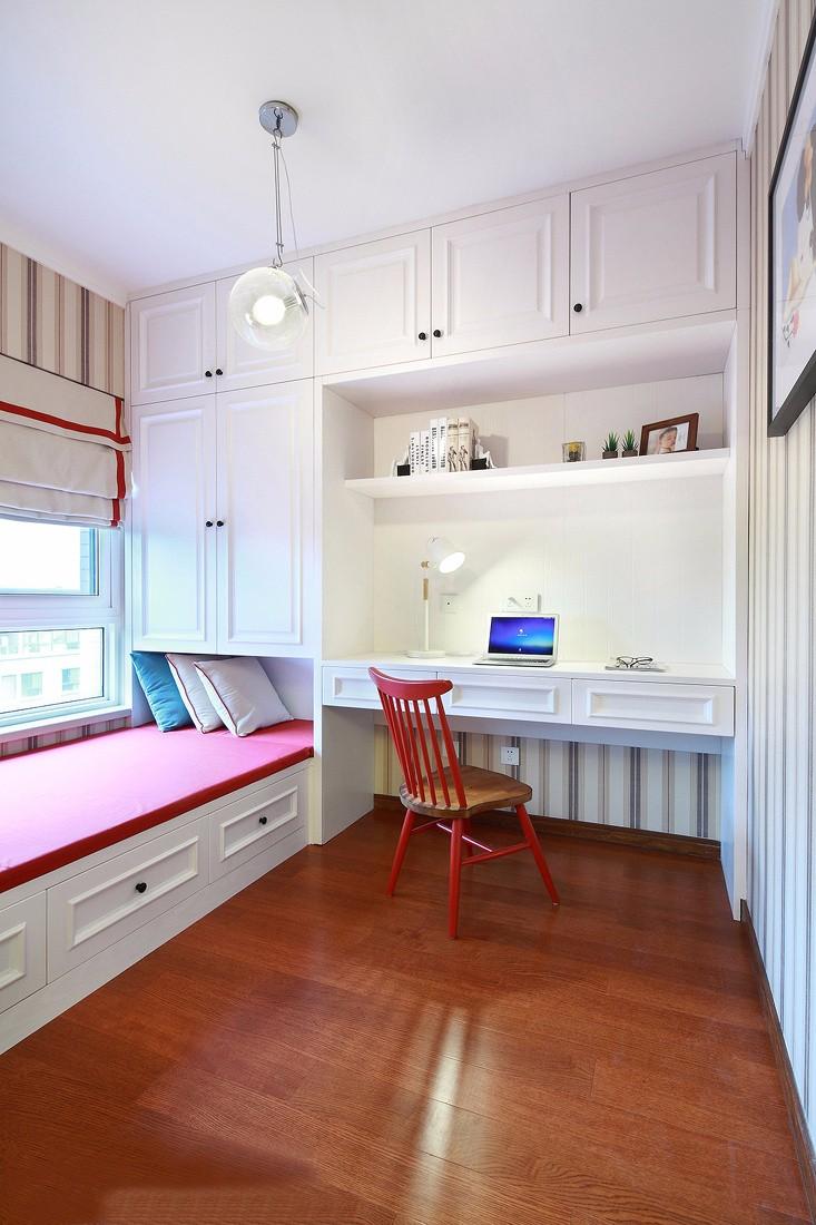 130平米三居室书房装修效果图