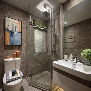 135平后现代风格卫生间装修效果图