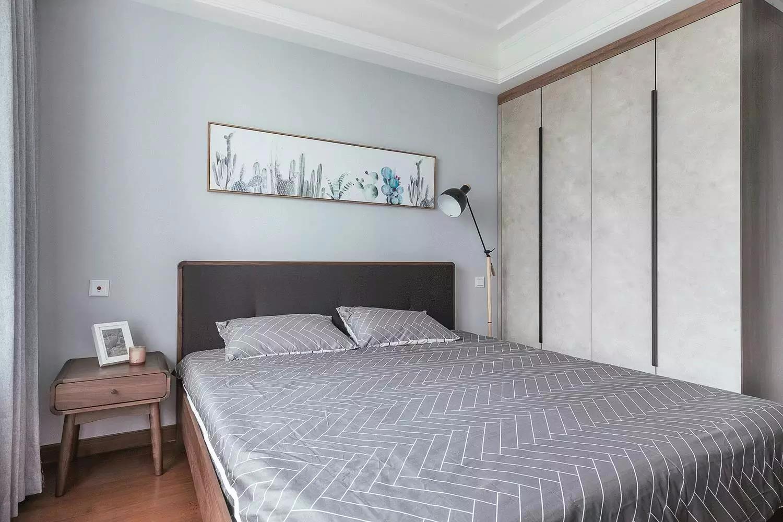 140㎡北欧风格卧室装修效果图