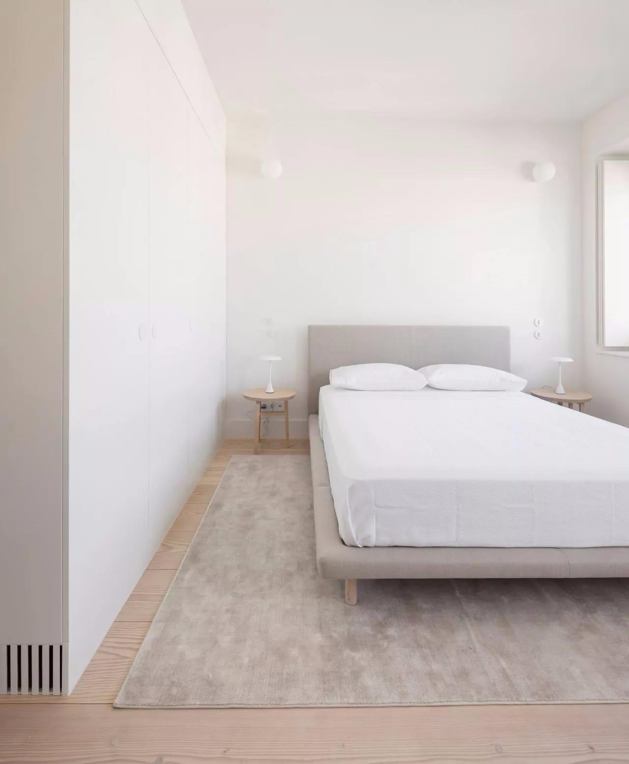 极简风格公寓卧室装修效果图