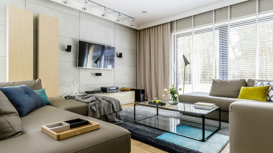 大户型公寓客厅装修效果图