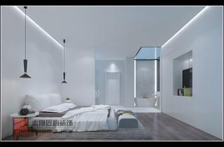 极简别墅卧室装修效果图