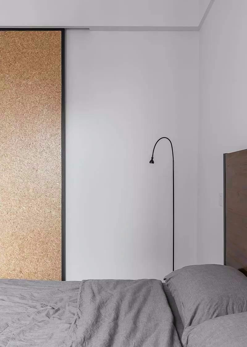 85㎡北欧风卧室装修效果图