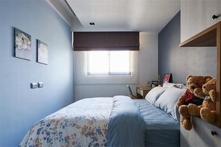现代北欧风格二居卧室装修设计图