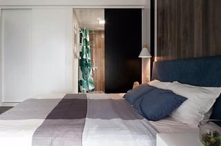 88㎡现代风格卧室装修效果图