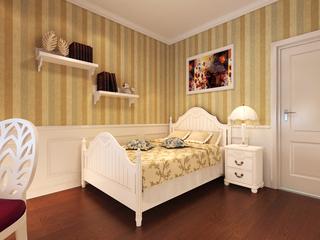 130㎡欧式风格卧室背景墙装修效果图
