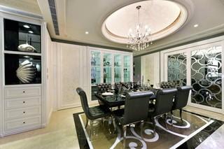 古典欧式风格餐厅装修效果图